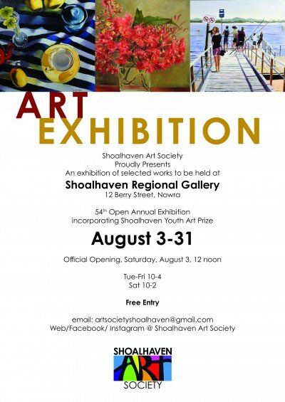 Shoalhaven Art Society.   Shoalhaven Regional Gallery
