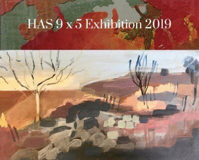 Hornsby Art Society 9 x 5's. Wallarobba Art Centre