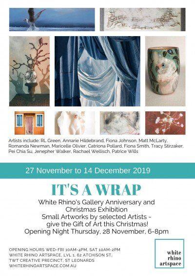 It's A Wrap.  White Rhino Gallery