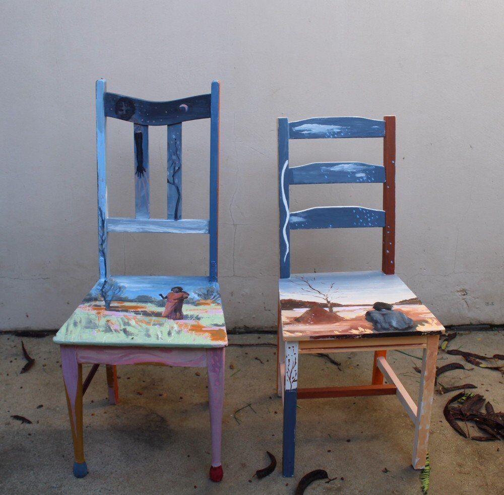 Cool Burn Chairs