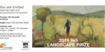 Waverly Woollahra Landscape Prize 2019